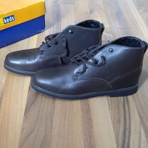 Ankle Boots Brown Size 8.5 ahhh... Keds